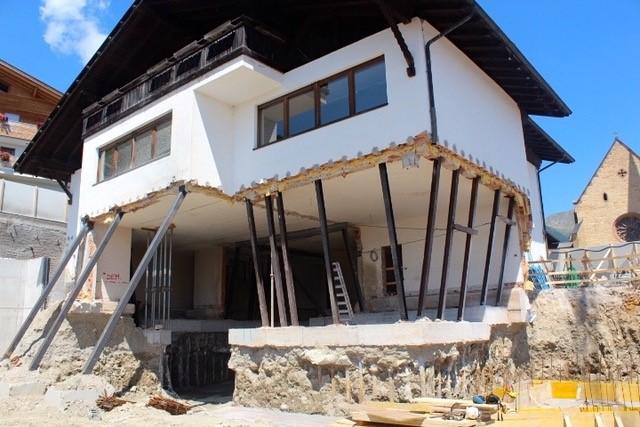 Spezialgründungen und Baugrubensicherung Grundschule Proveis